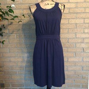 LOFT Sleeveless Cotton Dress